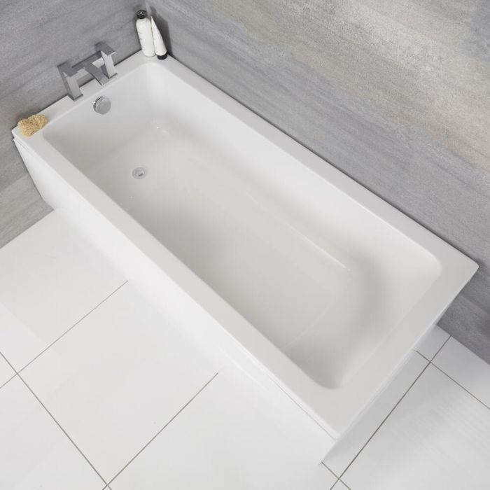 Bañera Rectangular Blanca 1500x700mm