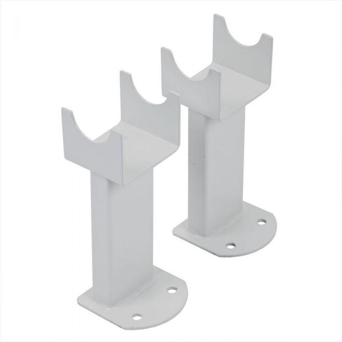 Conjunto de Montaje a Suelo Para Radiadores Revive, Sloane y Savy con Columnas en Blanco
