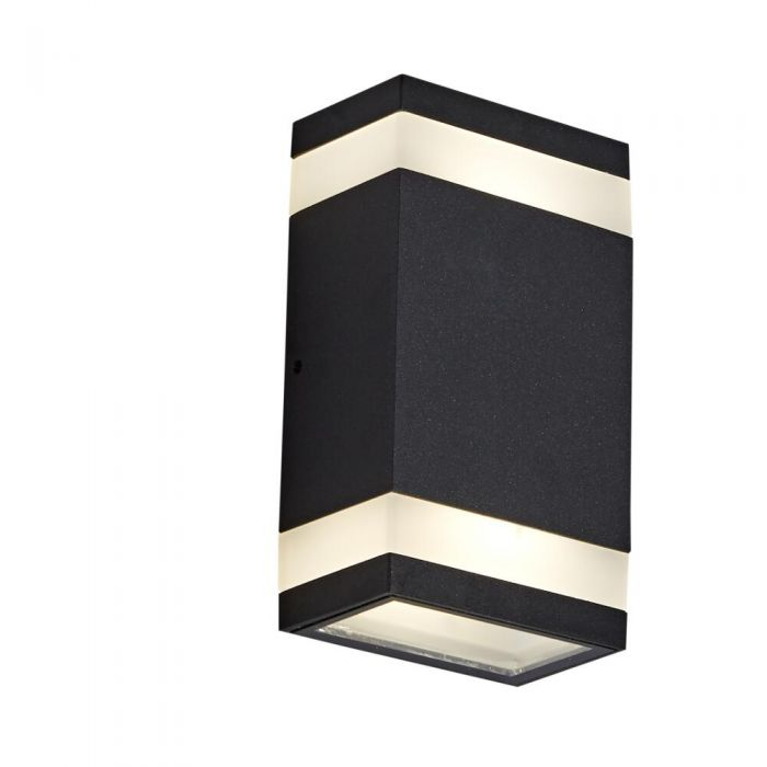 Aplique Ascendente/Descendente con Acabado de Color Negro o Antracita LED - Jimara