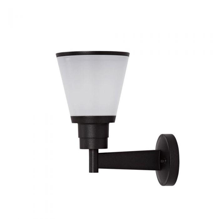 Aplique LED Exterior IP65 Mural de Aluminio de Fundición a Presión Negro o Antracita - Ferroi