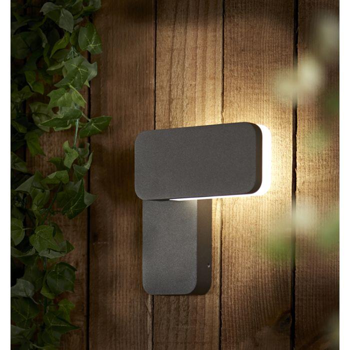 Aplique Mural LED Cuadrado para Exteriores IP65  - Someo