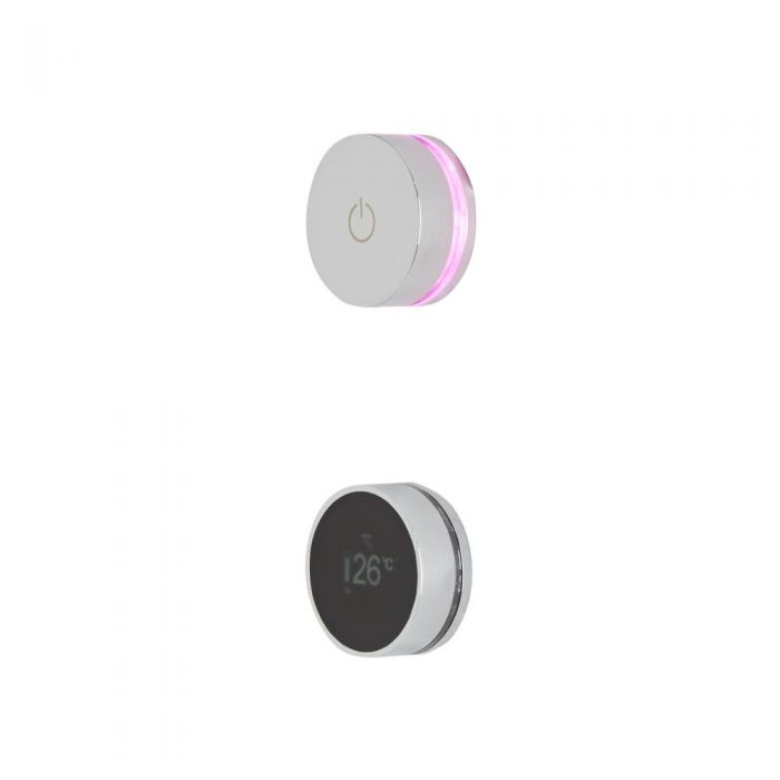 Ducha Digital con Sistema de Control de 2 Salidas - Narus