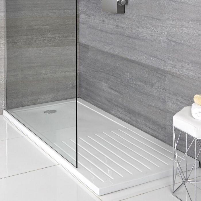 Plato de Ducha Rectangular de 1400x900mm con Zona de Secado Maxton