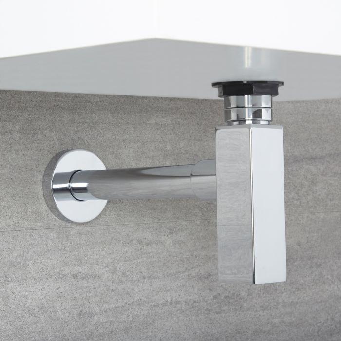 Sifón de Botella de Desagüe con Tubo de Extensión para Lavabo
