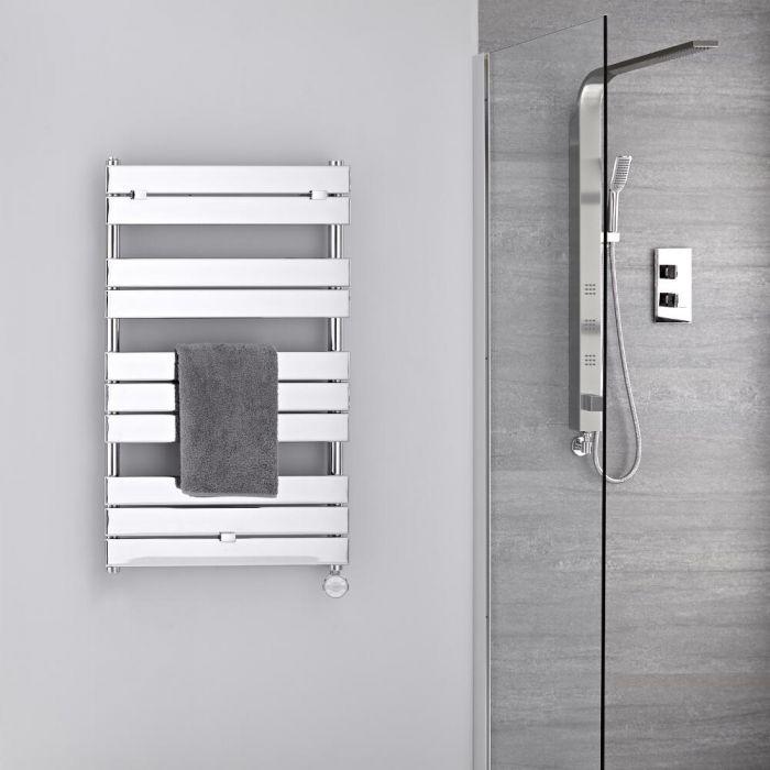 Radiador Toallero Eléctrico -  Plano- Cromado - 1000mm x 600mm - Lustro