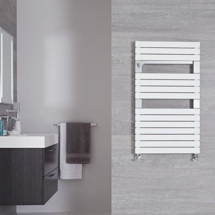 Radiador Toallero de Diseño Vertical - Blanco - 952mm x 550mm - 637 Vatios - Seina