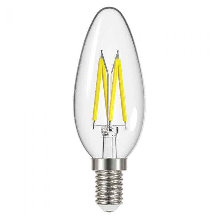 Conjunto con 6 Bombillas LED 4W E14 con Filamentos - Energizer