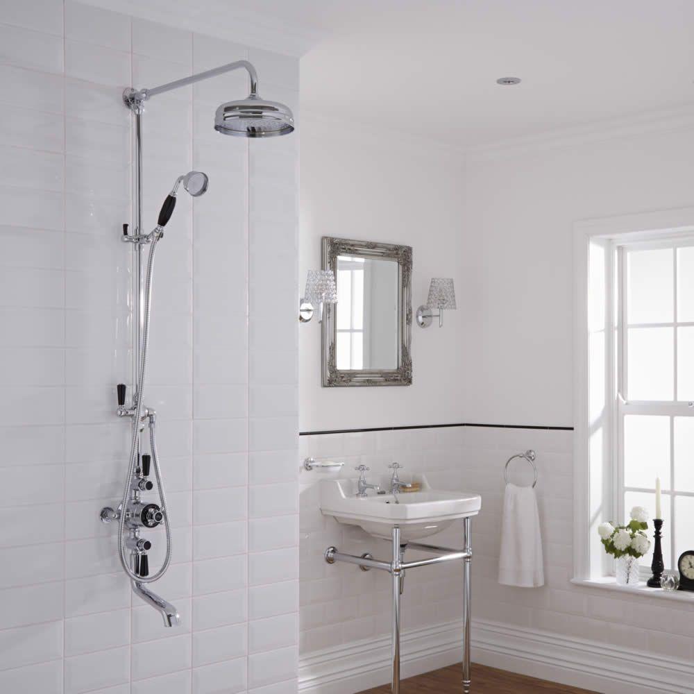 Llave termost tica mezcladora tradicional externa de 3 for Llave mezcladora ducha