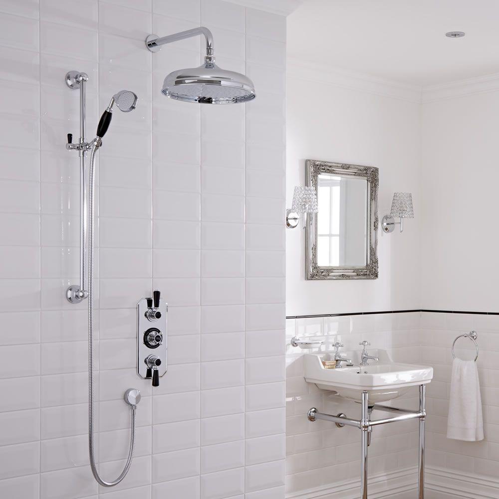 Conjunto de ducha con llave mezcladora termost tica for Llave ducha telefono