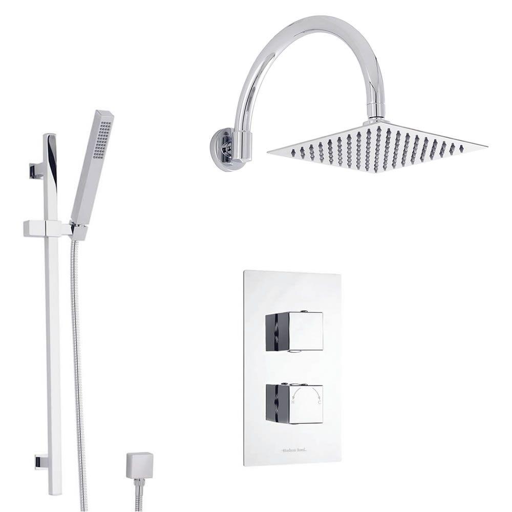 Sistema de ducha con llave termost tica con alcachofa for Llave ducha telefono
