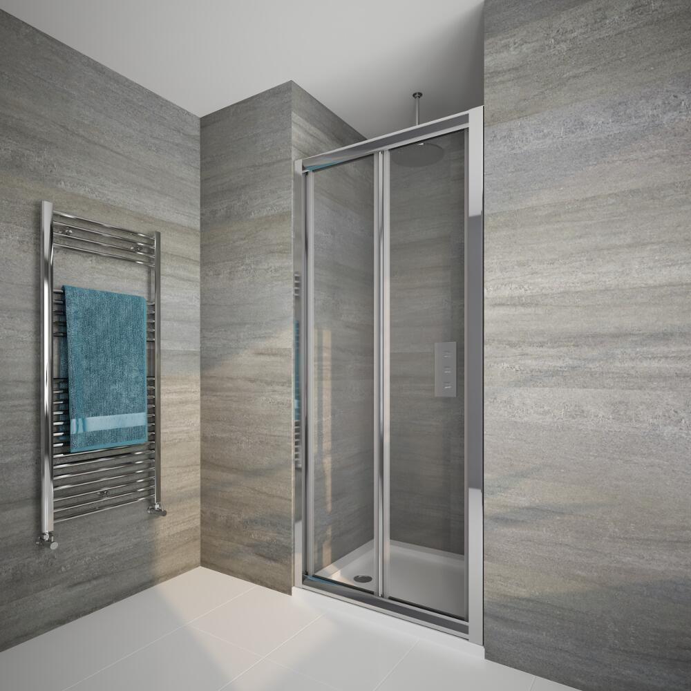 Mampara de ducha frontal con puerta abatible de 1000x1950mm - Mamparas de ducha puertas abatibles ...