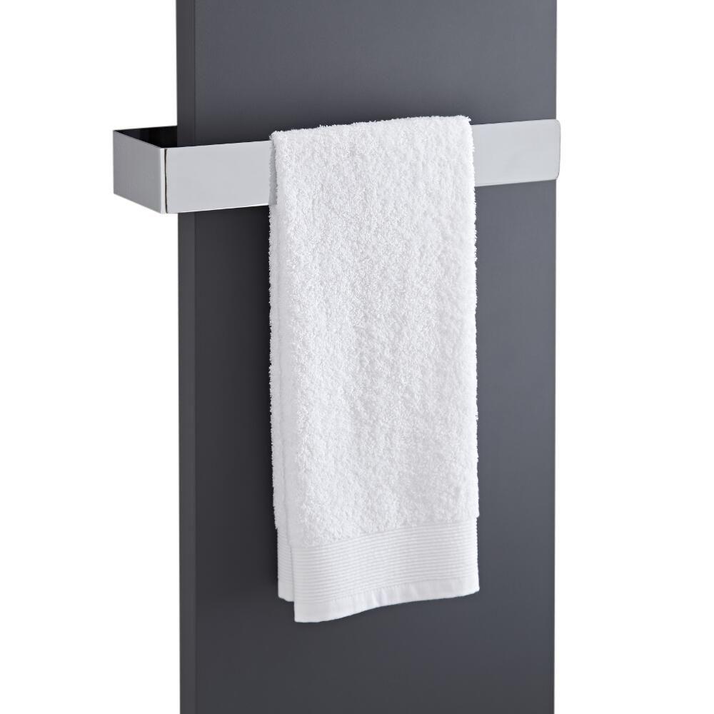 Barra porta toallas 420x60mm para radiadores de dise o - Porta toallas para bano ...