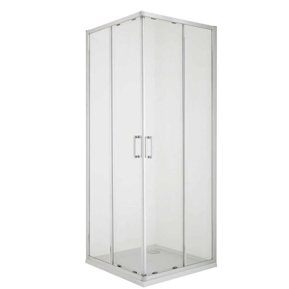 Mampara de ducha angular corredera 800x1950mm porland - Mampara de ducha segunda mano ...