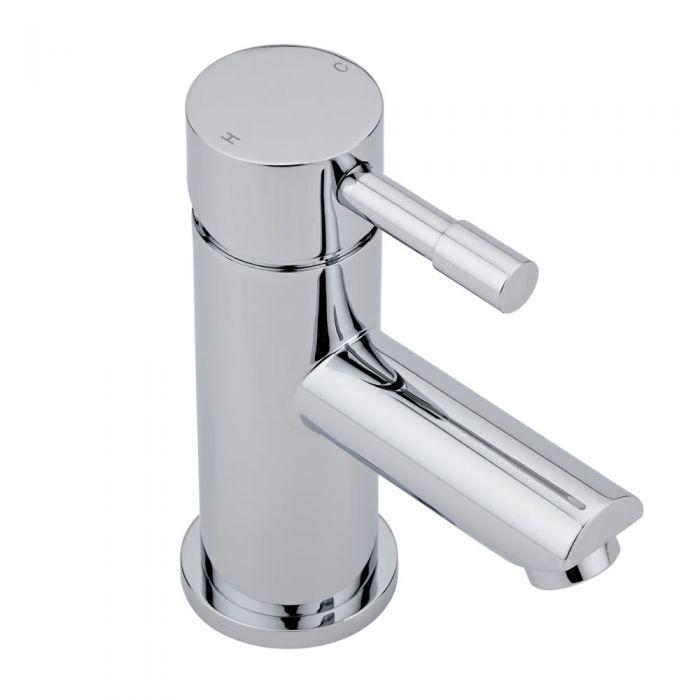 Grifo mezclador de lavabo de lat n cromado - Grifos de laton ...