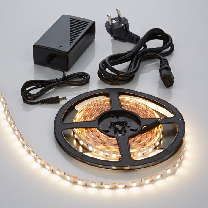 Tira de Luces LED 5050 5 Metros Blanco Cálido