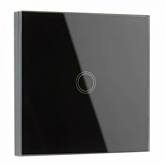 Interruptor de Diseño de Pared Negro
