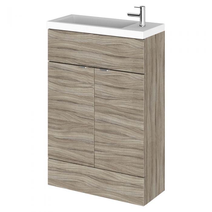 Mueble de Lavabo Wengué de 600x255mm