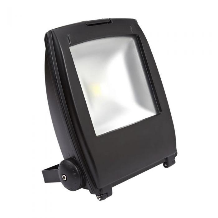 Foco Faro Proyector LED 50W Blanco Cálido o Frío con Estructura de Color Negro - Architect