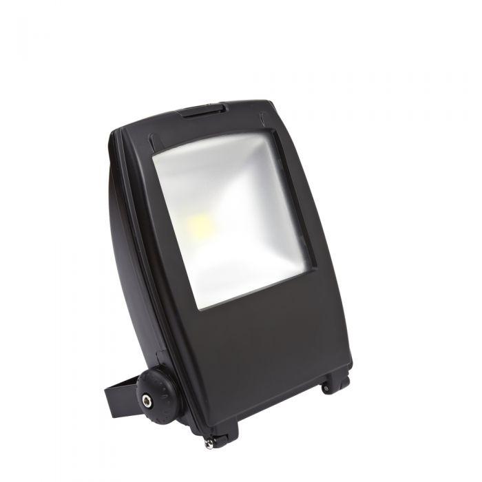 Foco Faro Proyector LED 30W Blanco Frío con Estructura de Color Negro - Architect