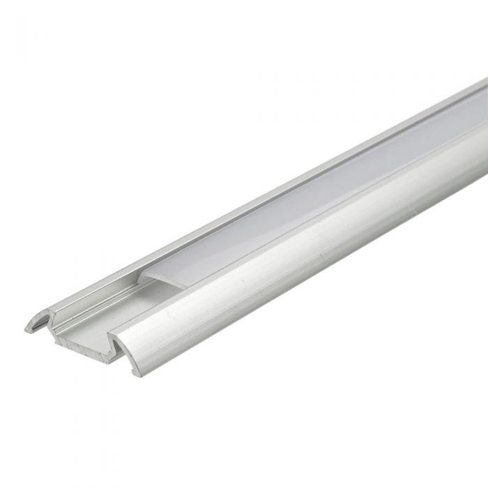 5 x Perfiles de Superficie para Tiras LED 100cm