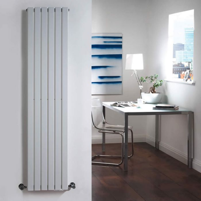 Radiador de Diseño Vertical - Blanco - 1600mm x 354mm x 54mm - 861 Vatios - Sloane