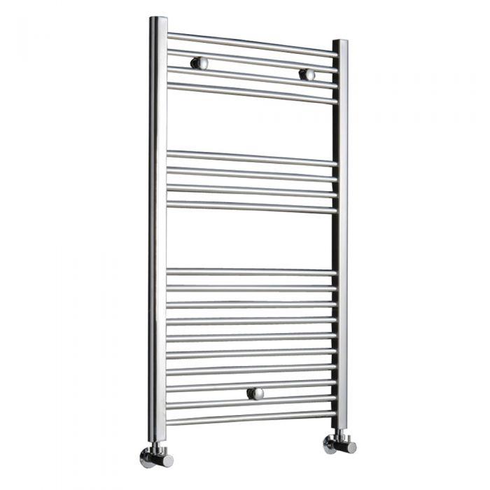 Radiador Toallero Plano - Cromado - 1000mm x 600mm x 30mm - 344 Vatios - Ladder