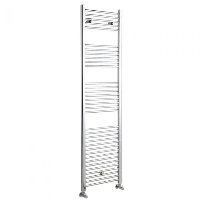 Radiador Toallero Plano - Cromado - 1800mm x 600mm x 30mm - 789 Vatios - Ladder