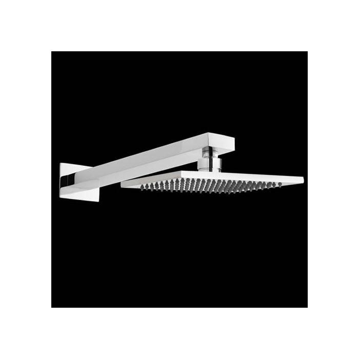 Alcachofa de Ducha Cuadrada 200 x 200mm con Brazo