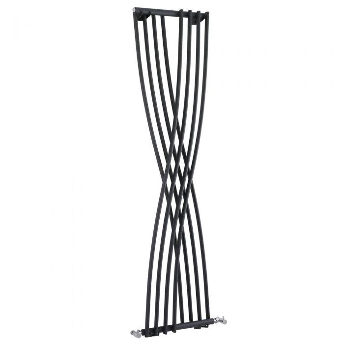 Radiador de Diseño Vertical - Antracita - 1775mm x 450mm x 110mm - 925 Vatios - Xcite