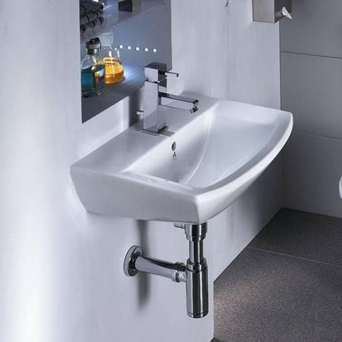 Lavabo Suspendido Moderno en Cerámica 60x43cm
