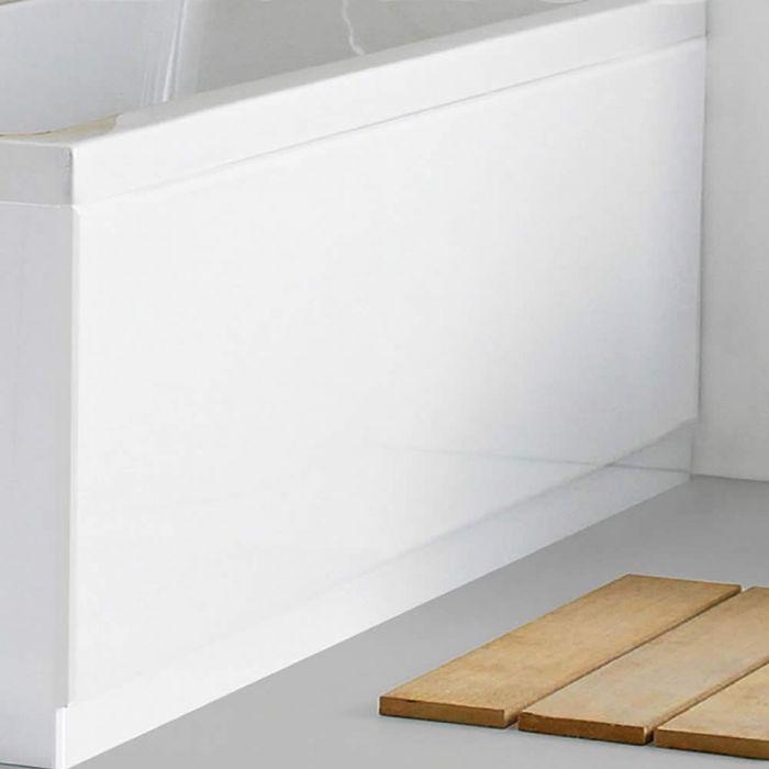 Faldón de Bañera Frontal de 1700mm MDF Blanco Lacado