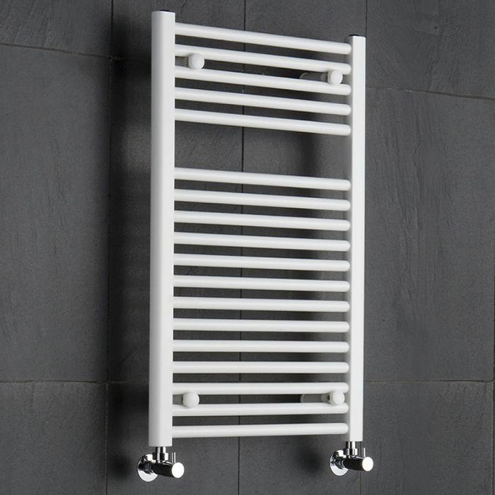 Radiador Toallero Plano - Blanco - 800mm x 500mm x 50mm - 474 Vatios - Sterling