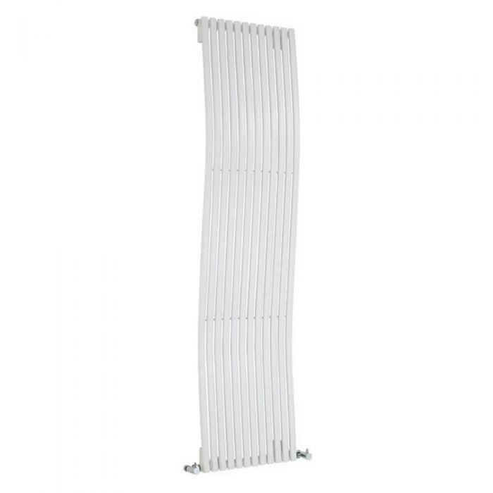 Radiador de Diseño Vertical - Blanco - 1600mm x 460mm x 90mm - 1638 Vatios - Ola