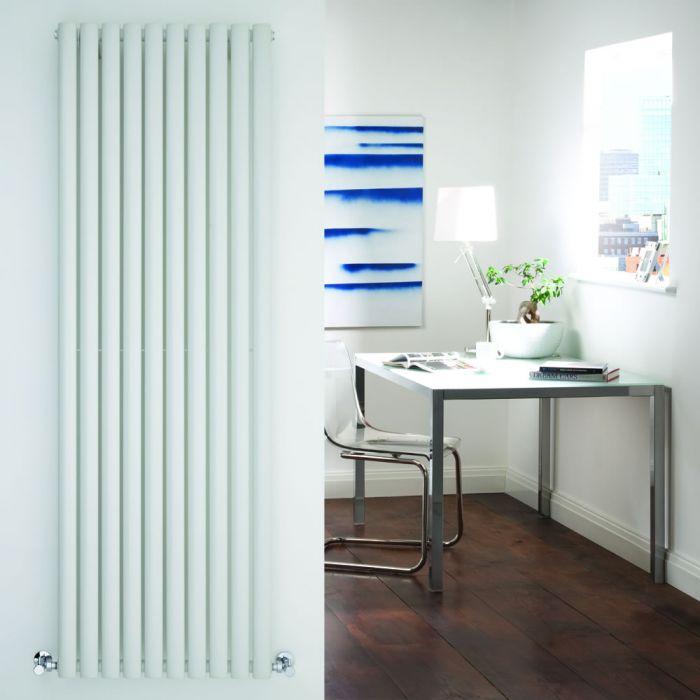 Radiador de Diseño Vertical - Blanco - 1780mm x 590mm x 55mm - 1487 Vatios - Revive