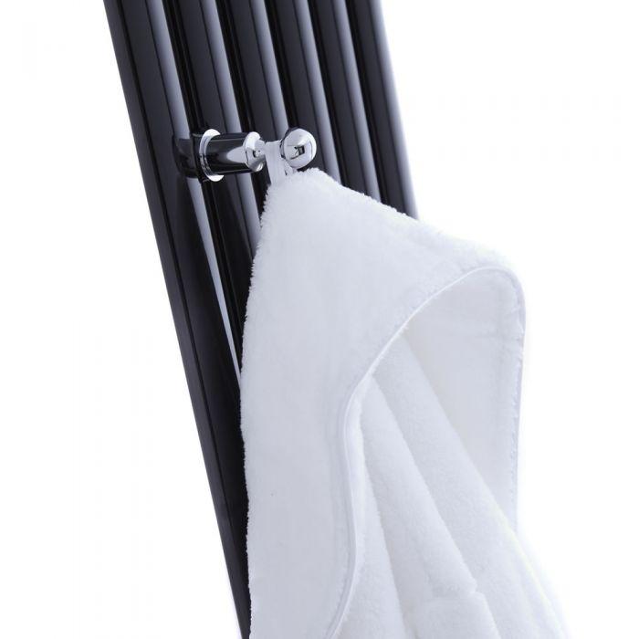 Percha Para Batas o Toallas en Cromo para radiadores Verticales Revive