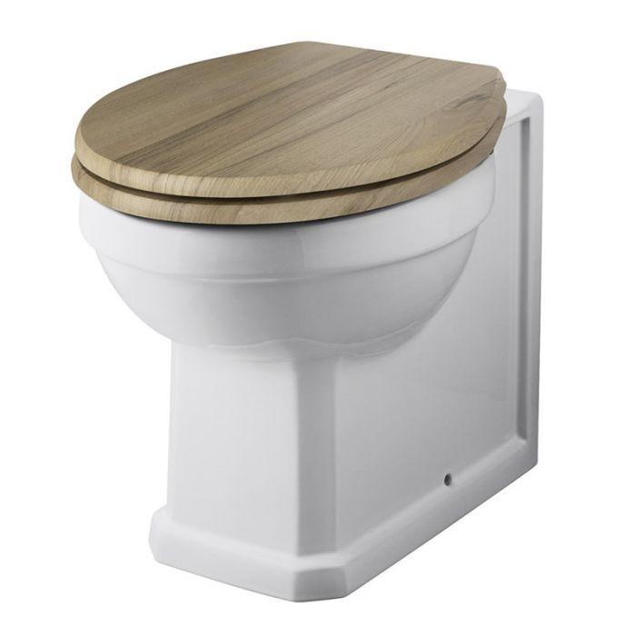Pack de WC Tradicional con Inodoro de Salida Horizontal y Tapa