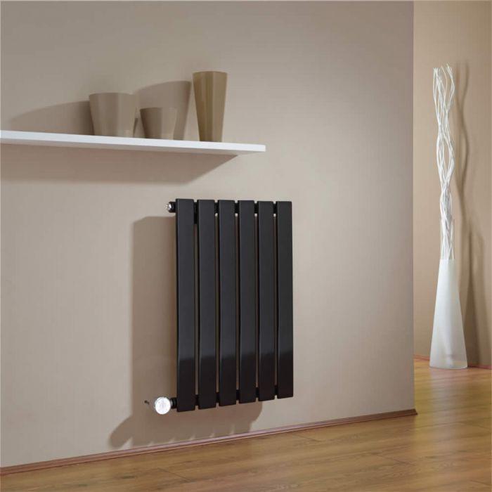 Radiador de Diseño Eléctrico Horizontal - Negro - 635mm x 420mm x 46mm - Delta