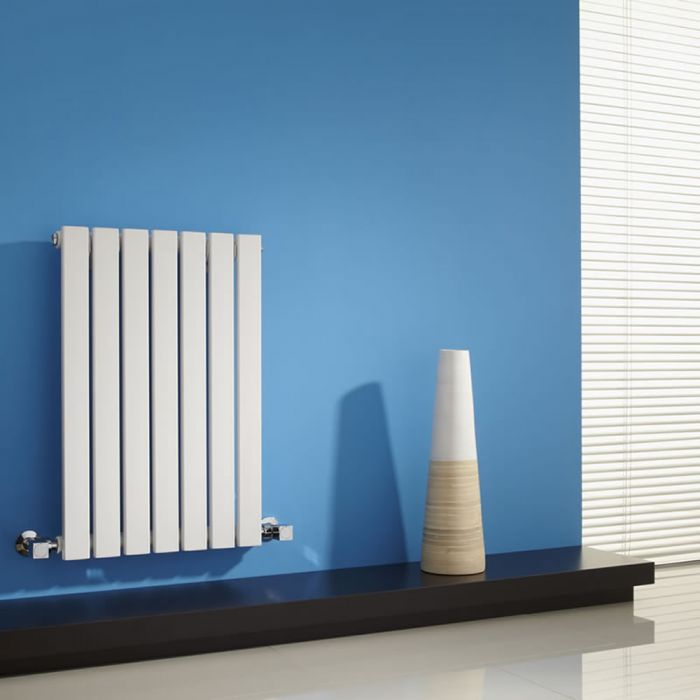 Radiador de Diseño Horizontal - Blanco - 635mm x 420mm x 54mm - 420 Vatios - Sloane