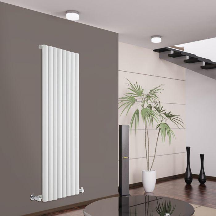 Radiador de Diseño Vertical - Blanco - 1600mm x 472mm x 80mm - 1278 Vatios - Savy