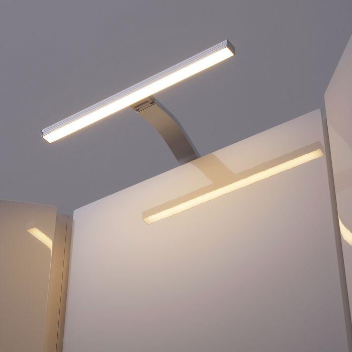 Iluminación LED 3,3 W sobre Armario con Conector de Alimentación