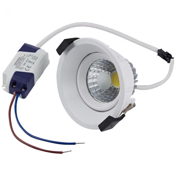 Foco Downlight LED de 8W