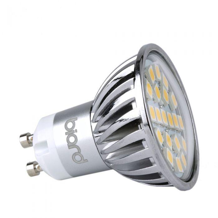 Foco LED GU10 4W de Techo Angulo de 120° equivalente a 50W