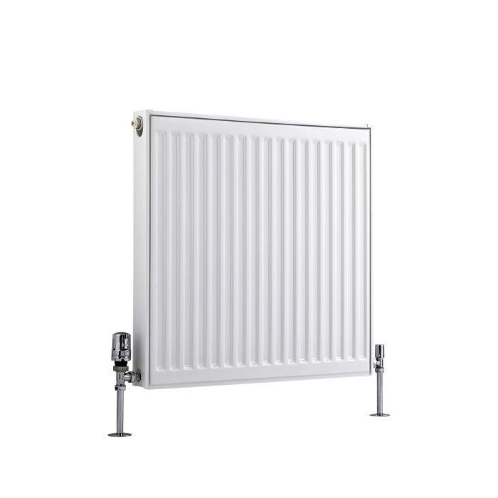 Radiador Convector Horizontal - Blanco - 300mm x 400mm x 50mm - 219 Vatios - Eco