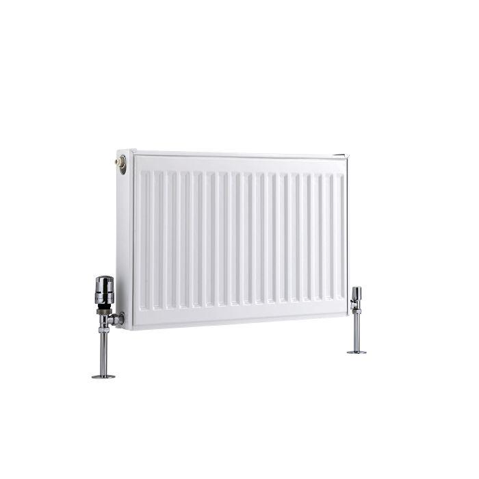 Radiador Convector Horizontal - Blanco - 400mm x 600mm x 50mm - 410 Vatios - Eco