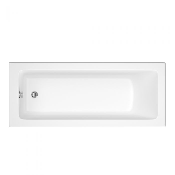 Bañera Rectangular Blanca 1600x700mm