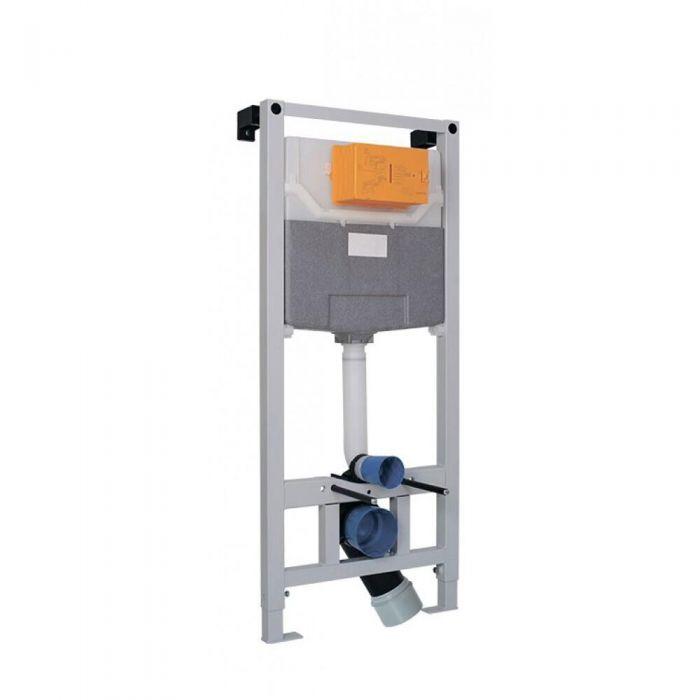Estructura con Cisterna para WC Inodoro Suspendido 11150x500mm