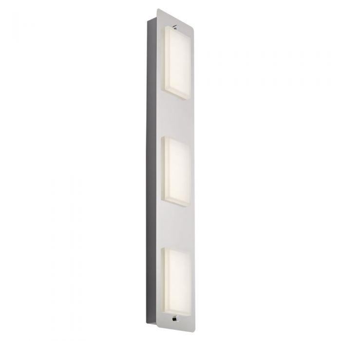 Luminaria de Techo con 3 Focos para Baño LED 13W - Glacier