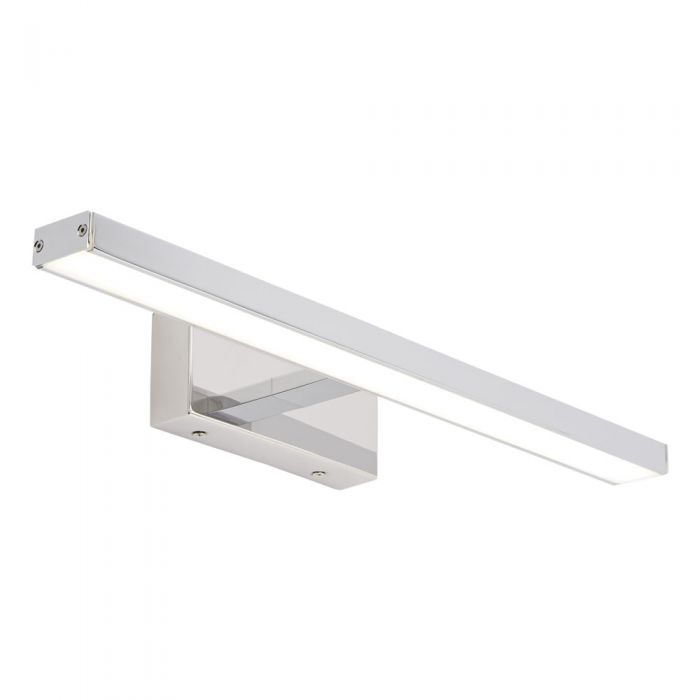 Foco LED Cromado Cuadrado  para Espejo 13W - Parade