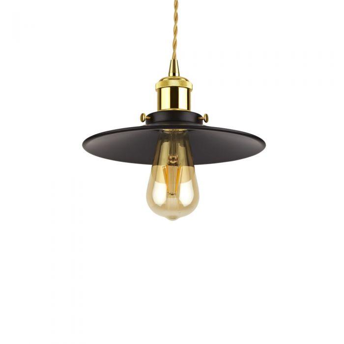 Lámpara Suspendida Estilo Vintage de Acero Disponible con Diferentes Acabados- Noord