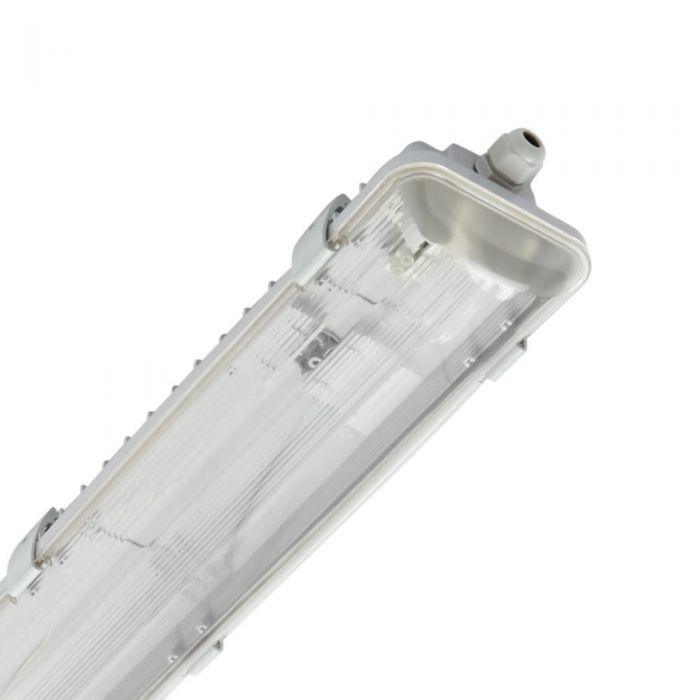 Regleta LED IP65 665 x 118 x 83mm para 2 Tubos
